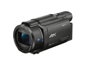 camara de video sony 4k profesional